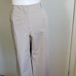 Talbots khaki boot cut pants